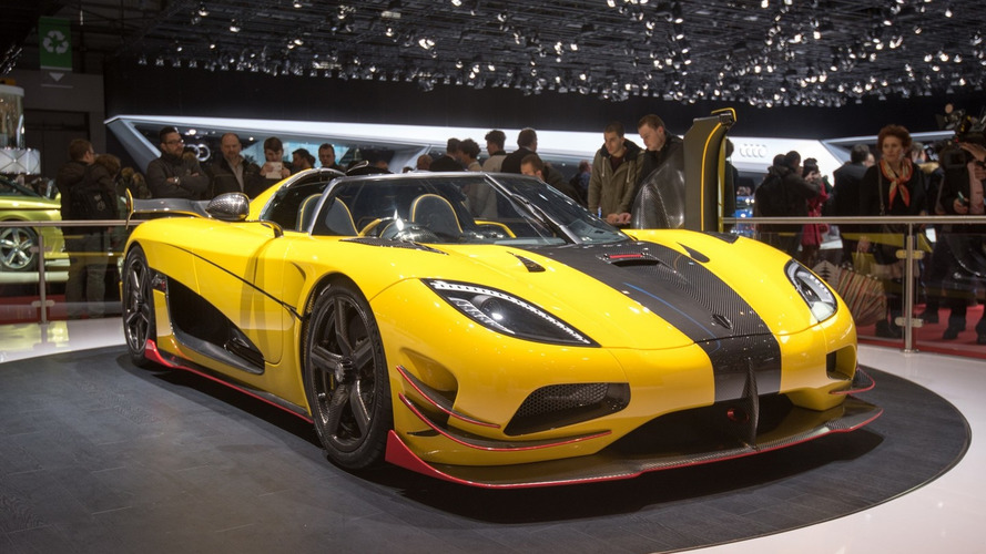 Sold-out Koenigsegg Agera RS arrives in Geneva with 1,160 hp