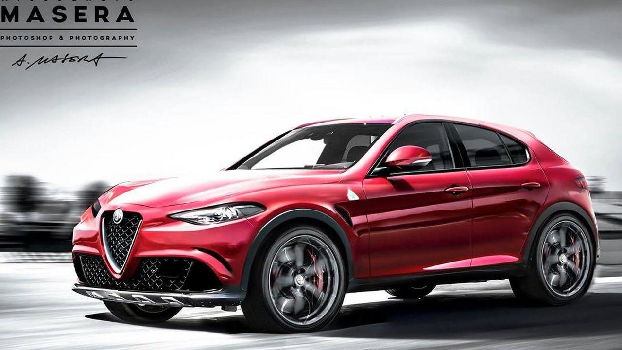 Alfa Romeo SUV rendering / Alessandro Masera