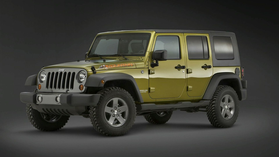 Jeep Wrangler Mountain and Islander Limited Editions to Show in Detroit