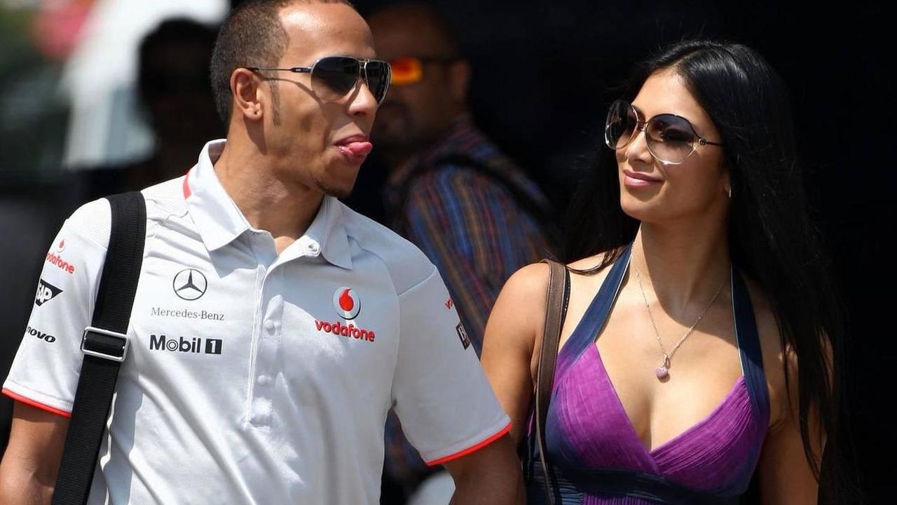 Lewis Hamilton (GBR), McLaren Mercedes, Nicole Scherzinger (USA), Singer in the Pussycat Dolls and girlfriend, Turkish Grand Prix, 30.05.2010 Istanbul, Turkey