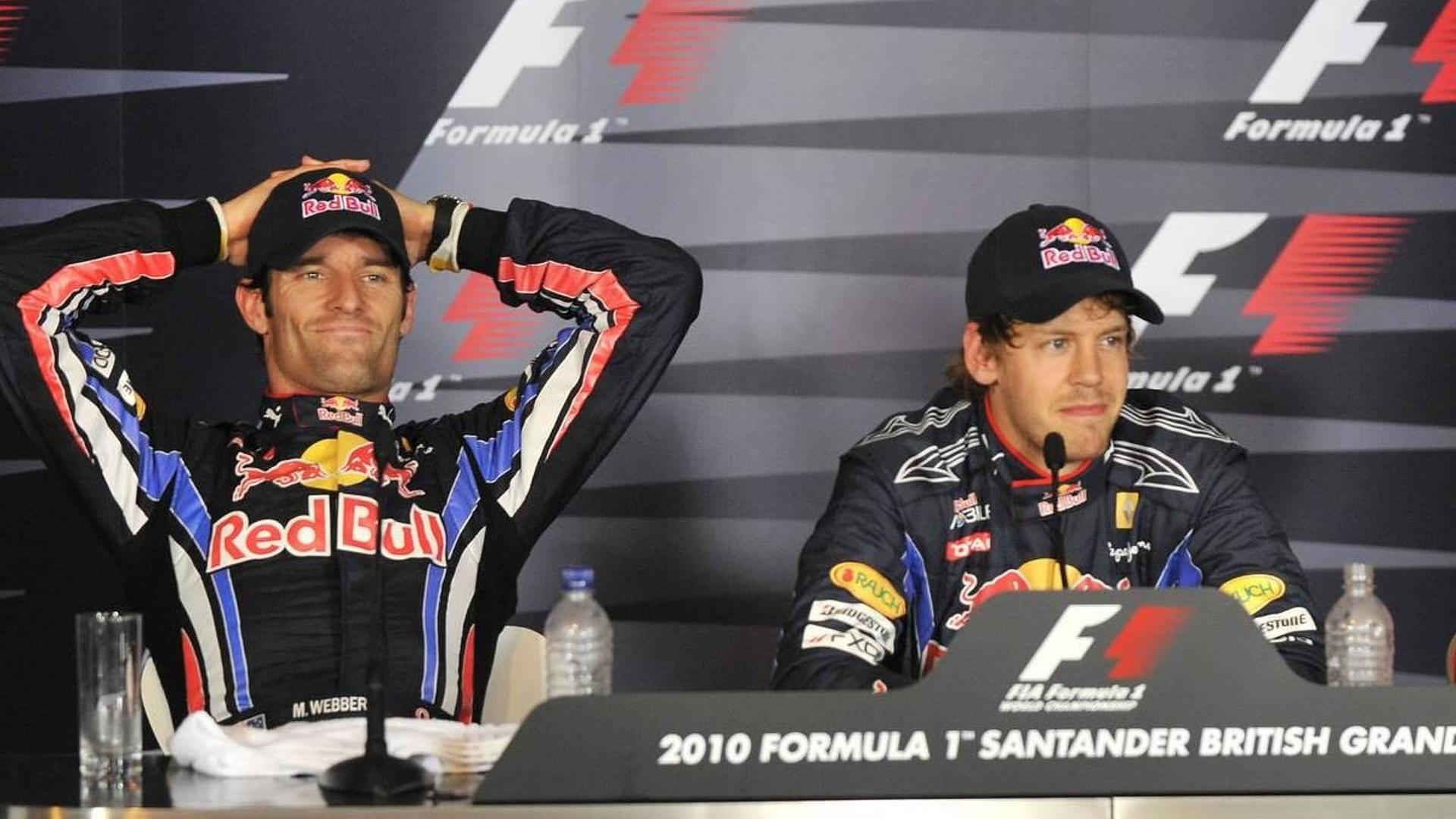 Angry Webber not set to leave Red Bull - Horner