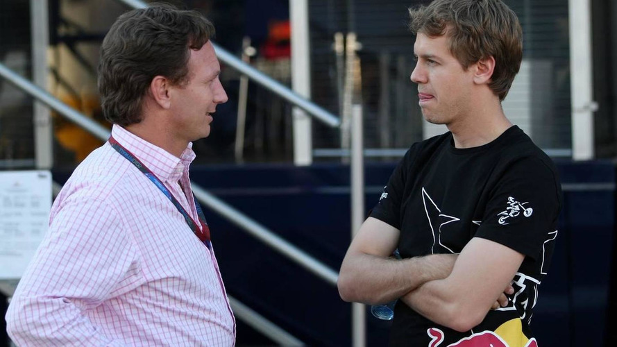 Horner wants 'long-term' contract talks with Vettel