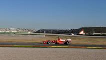 Massa in black still quick on Tuesday