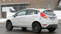 Ford Fiesta-based SUV mule prototype spied