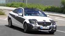 2012 Mercedes-Benz C-Class Coupe spied in California [video]