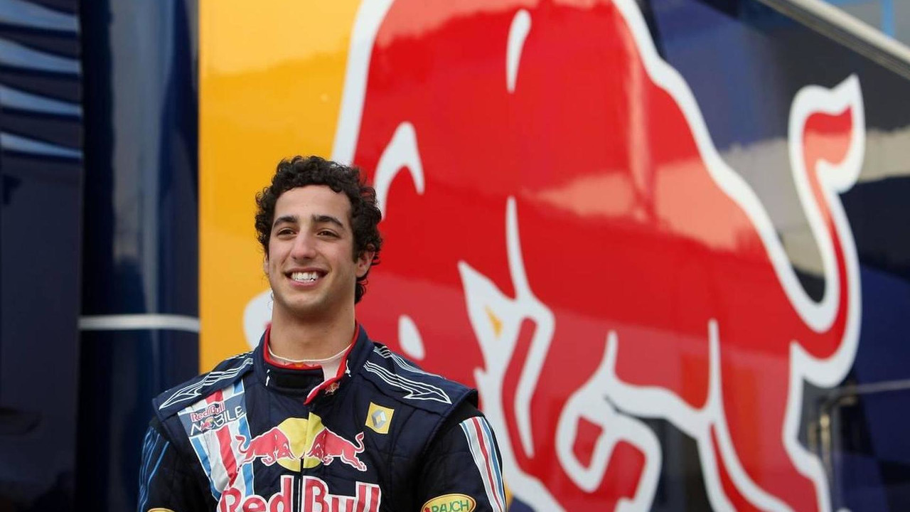 Daniel Ricciardo (AUS), Tests for Red Bull Racing- Formula 1 Testing, 01.12.2009 Jerez, Spain