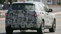 New BMW X3 Test in Death Valley