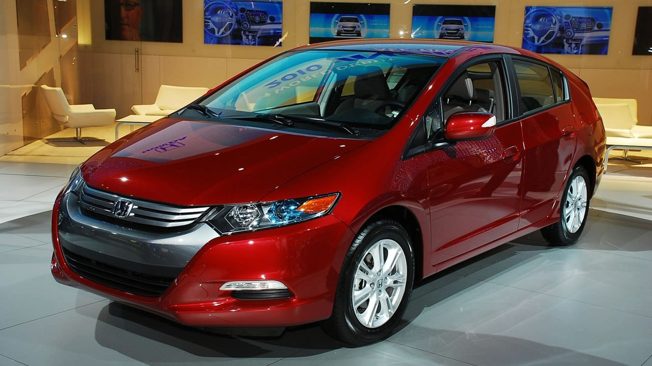 Honda Insight at 2009 NAIAS