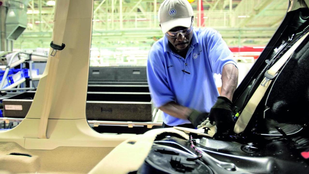Volkswagen Chattanooga, Tennessee plant, Passat production 25.05.2011