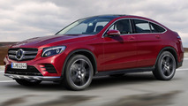 Mercedes-Benz GLC Coupe render sees into the future