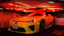 Lexus LFA Roadster makes a surprise appearance in Tokyo