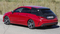 Mercedes CLA Shooting Brake spied virtually undisguised