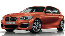 BMW M135i facelift first official photos leaked