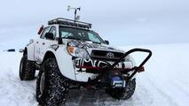 Toyota Hilux Conquers Antarctica On Jet Fuel 30.03.2012