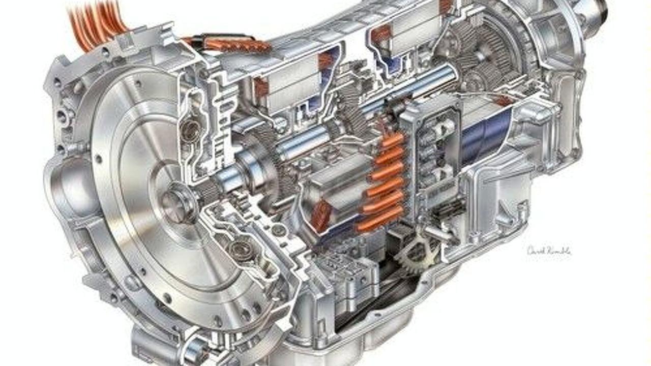 BMW and DaimlerChrysler hybrid engine