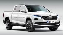 Skoda considering VW-based pickup