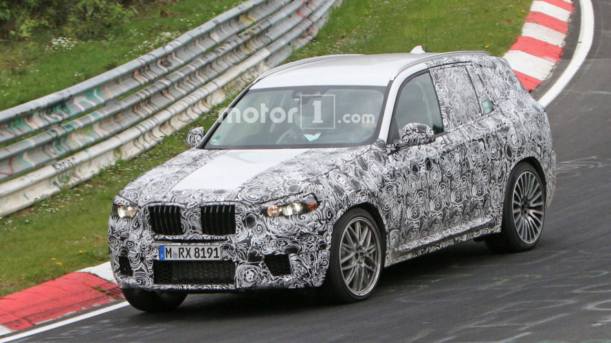 Watch BMW's X3 M prototype take on the Nurburgring