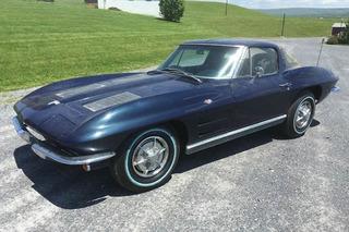 1963 Chevrolet Corvette Split Window Barn Find Should Clean Up Nicely
