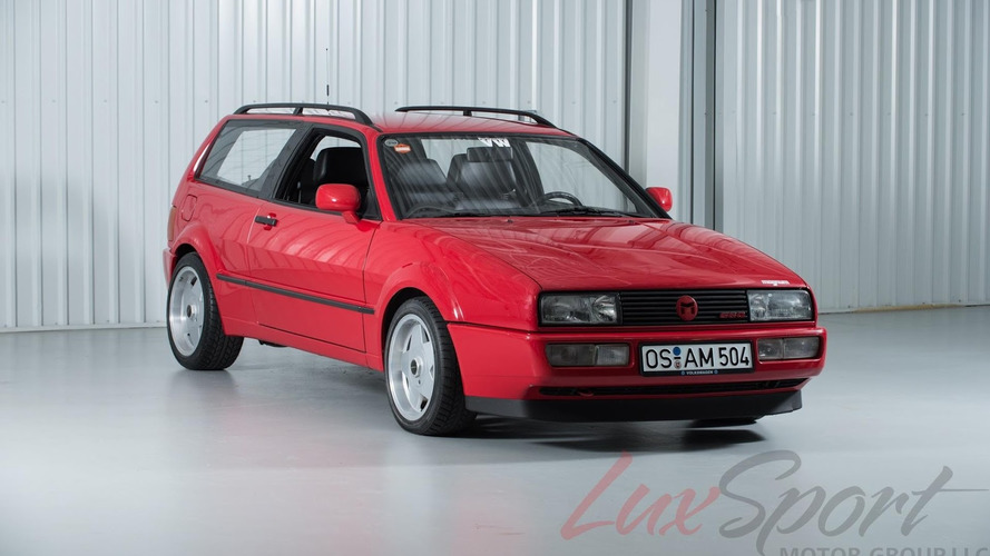 Super-rare 1990 VW Corrado Magnum G60 costs $49,995