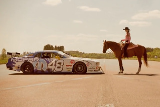 Challenger vs. Horse: See a True Horsepower Battle