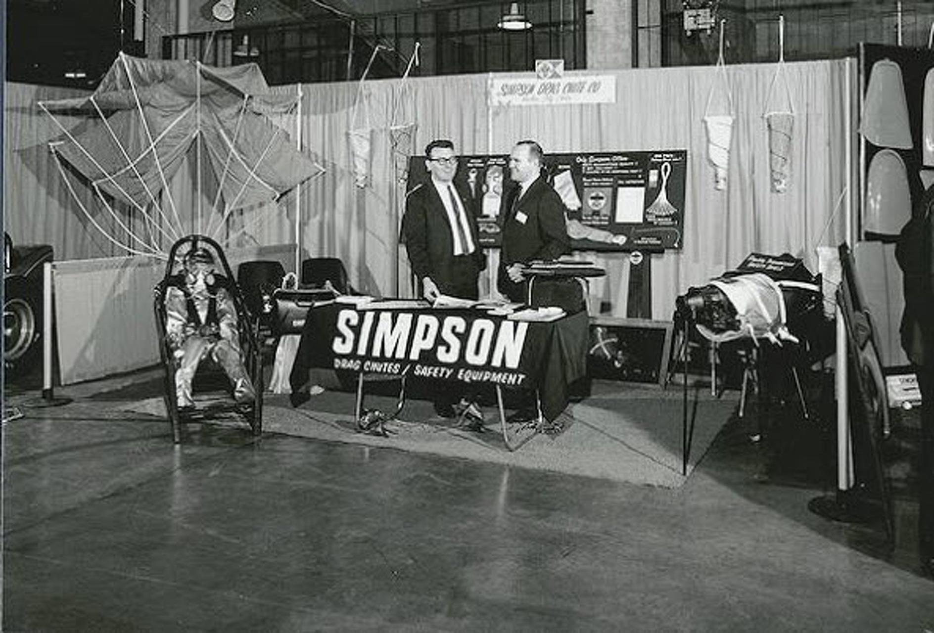 Scenes from the Innaugural 1967 SEMA Show