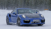 Porsche 911 GT2 RS spy photo