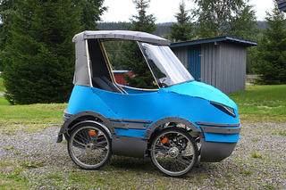 Bicycle Car on Indiegogo Solves Issue of Biking in Rain or Snow