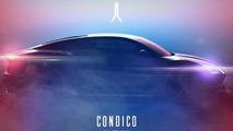 Aeterno Condico sportscar side profile revealed in new teaser