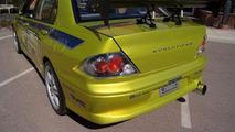 Paul Walker's Mitsubishi Evo from 2 Fast 2 Furious