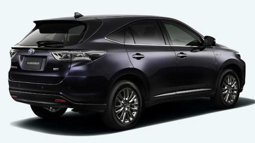2014 Toyota Harrier revealed, may hint at the new Lexus RX