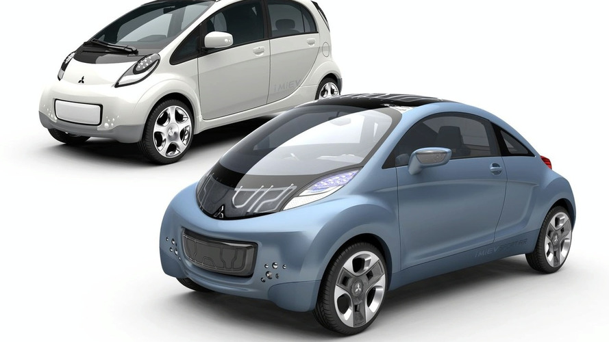 Mitsubishi iMiev Prototype and iMiev Sport Air