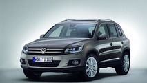 2012 Volkwagen Tiguan facelift officially released