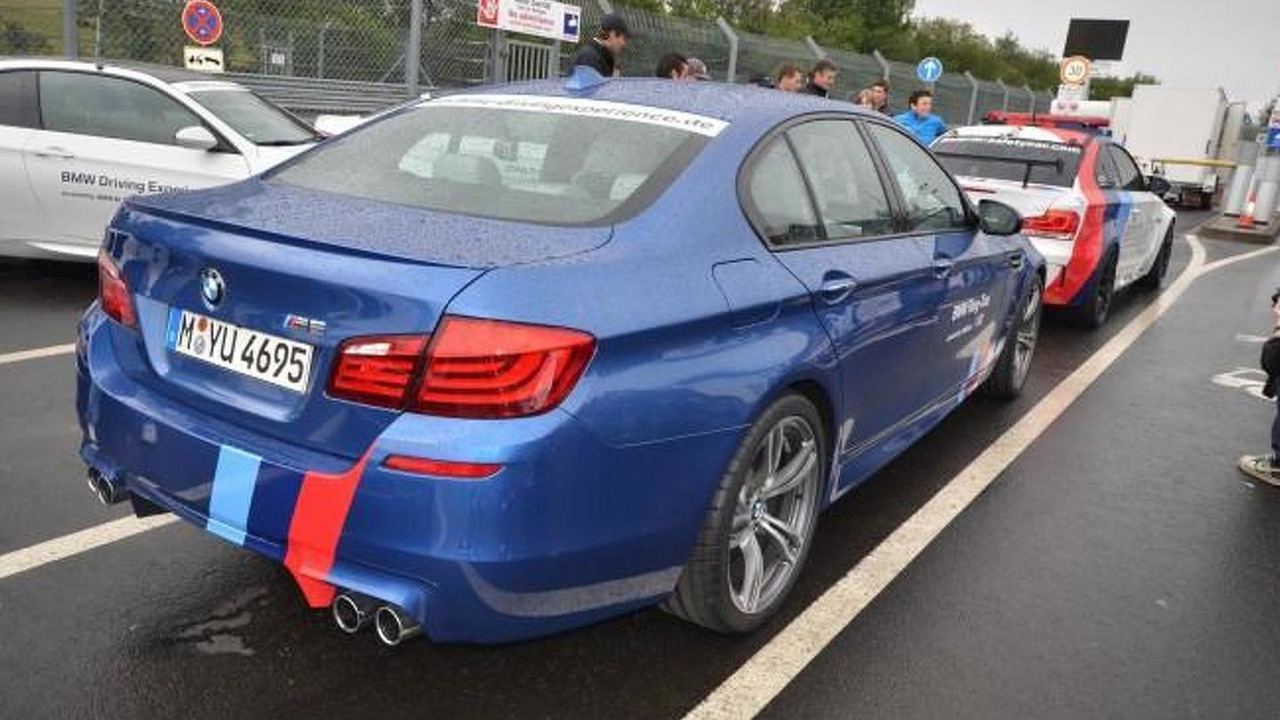 2012 BMW M5 Nürburgring taxi - 24.6.2011