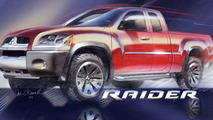 Show-Stopping Eclipse Sporty Coupe and Mitsubishi Raider Truck Bring new Style to Motor City