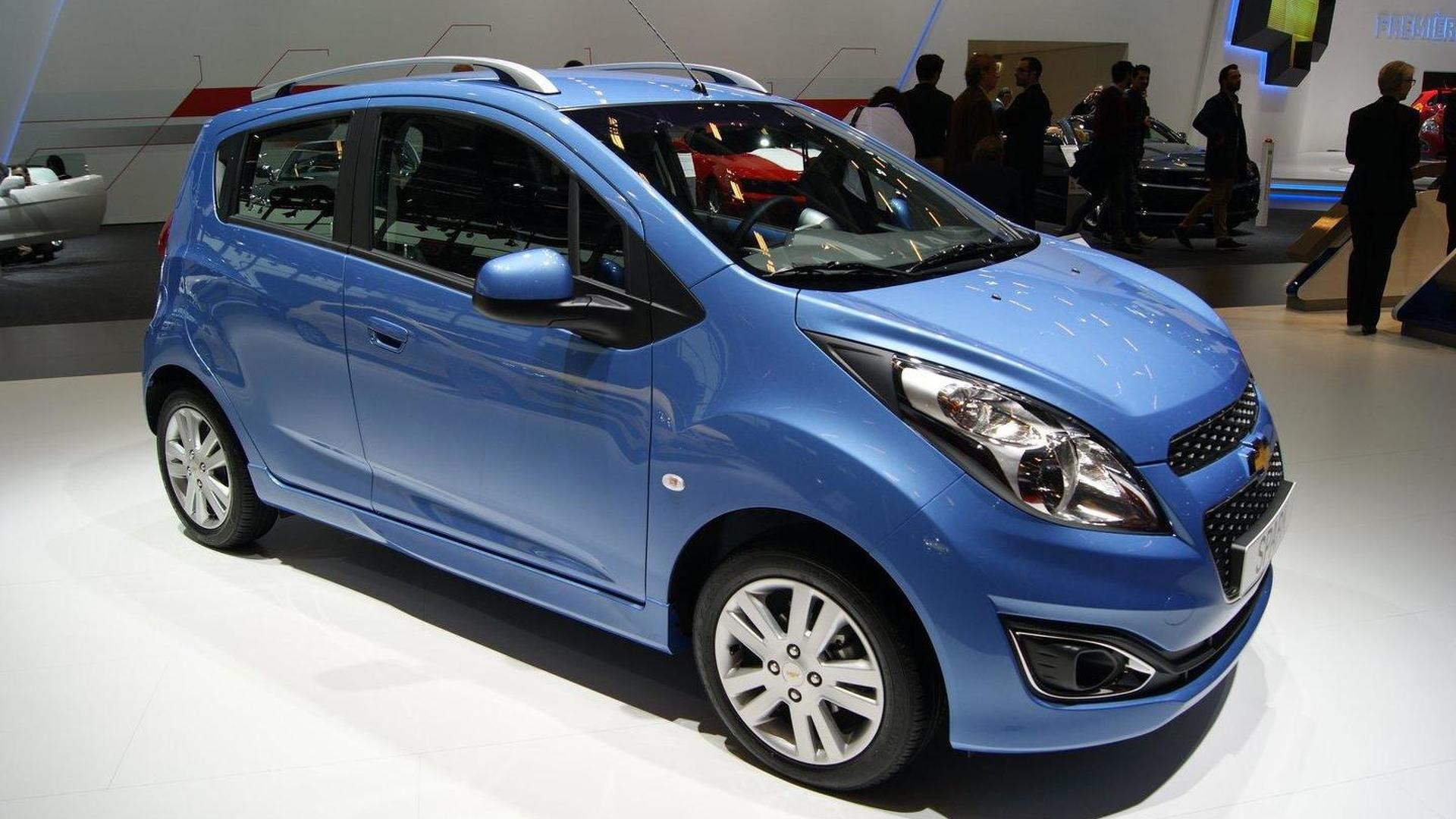 2013 Chevrolet Spark facelift & Orlando Turbo debut in Paris