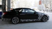 BMW M6 Cabrio spied making a pit stop