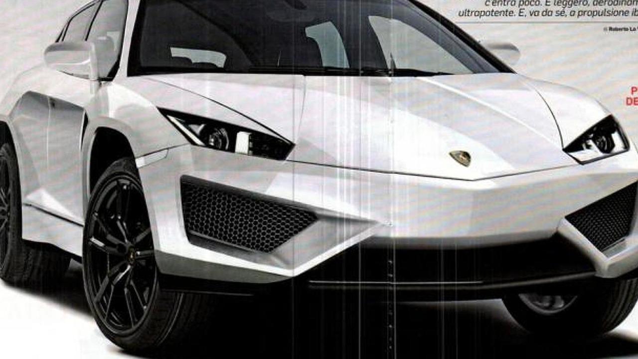 Lamborghini crossover concept leaked images, 1024, 30.01.2012