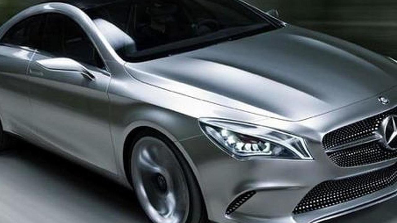 Mercedes Concept Sytle Coupe leak - 18.4.2012