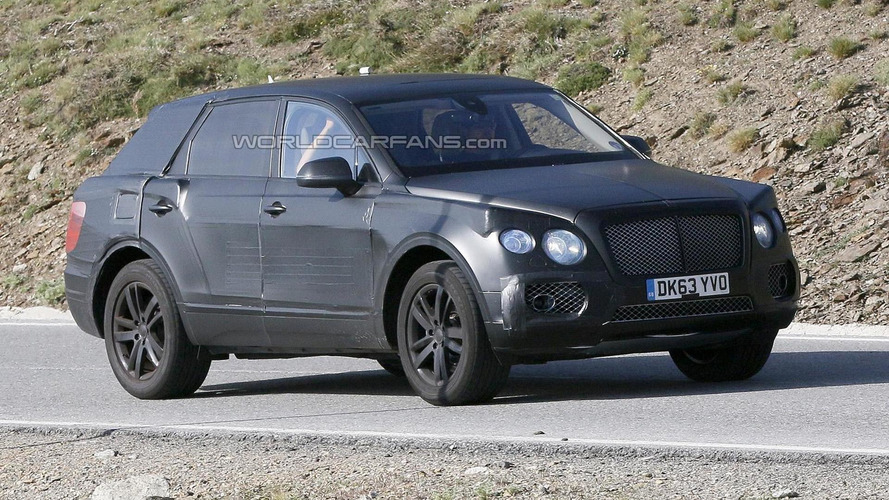 2016 Bentley SUV to cost more than 130,000 GBP