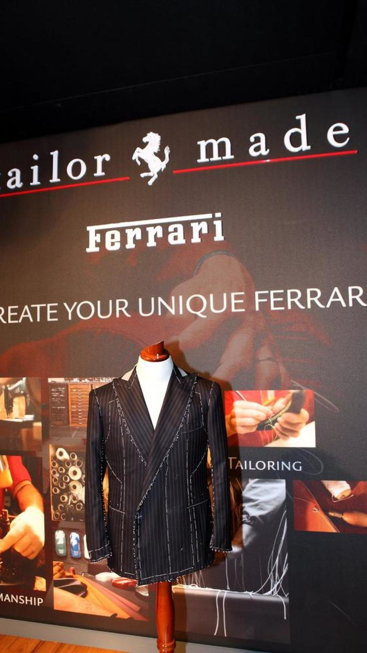 Ferrari Tailor-Made exclusive bespoke program 07.12.2011