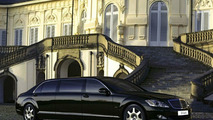 New Mercedes W221 S 600 Guard Pullman