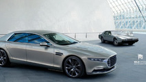 Aston Martin Lagonda sedan gets rendered