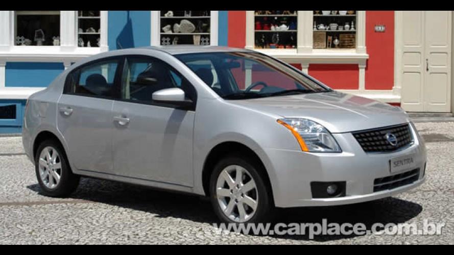 Nissan Sentra Flex chega em setembro - Versão a gasolina tem preço inicial de R$ 48.900 em SP