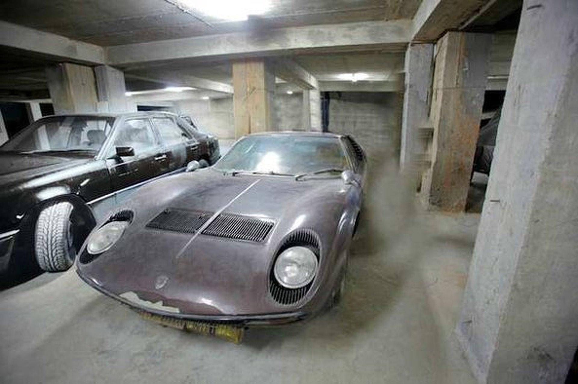 Rare Aristotle Onassis Lamborghini Miura S Up For Auction in London