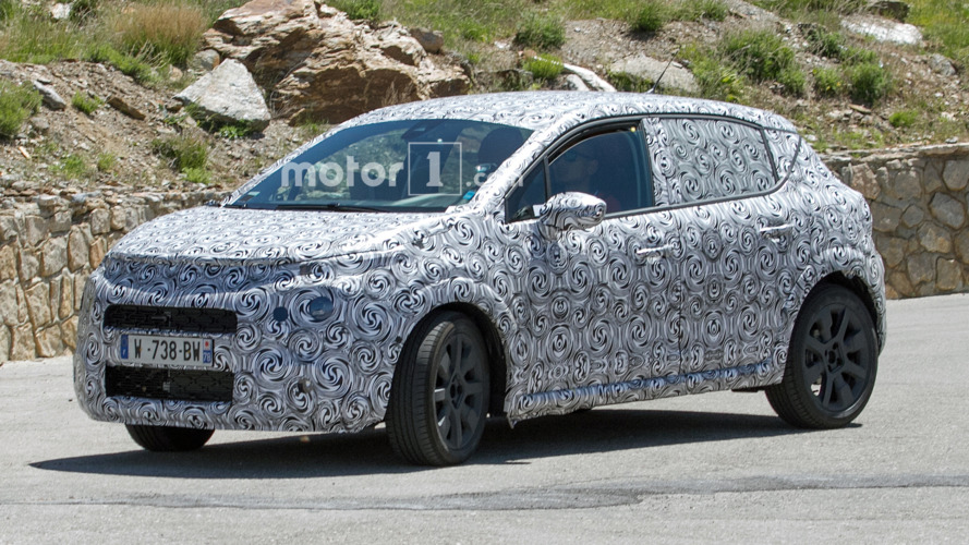 2017 Citroen C3 spied with a bolder design