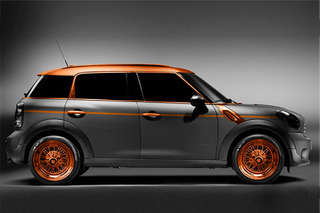 Unveiled: Steampunk Mini Countryman by Carlex Design