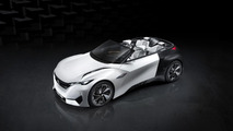 Peugeot Fractal concept goes official as an electric urban coupe cabriolet