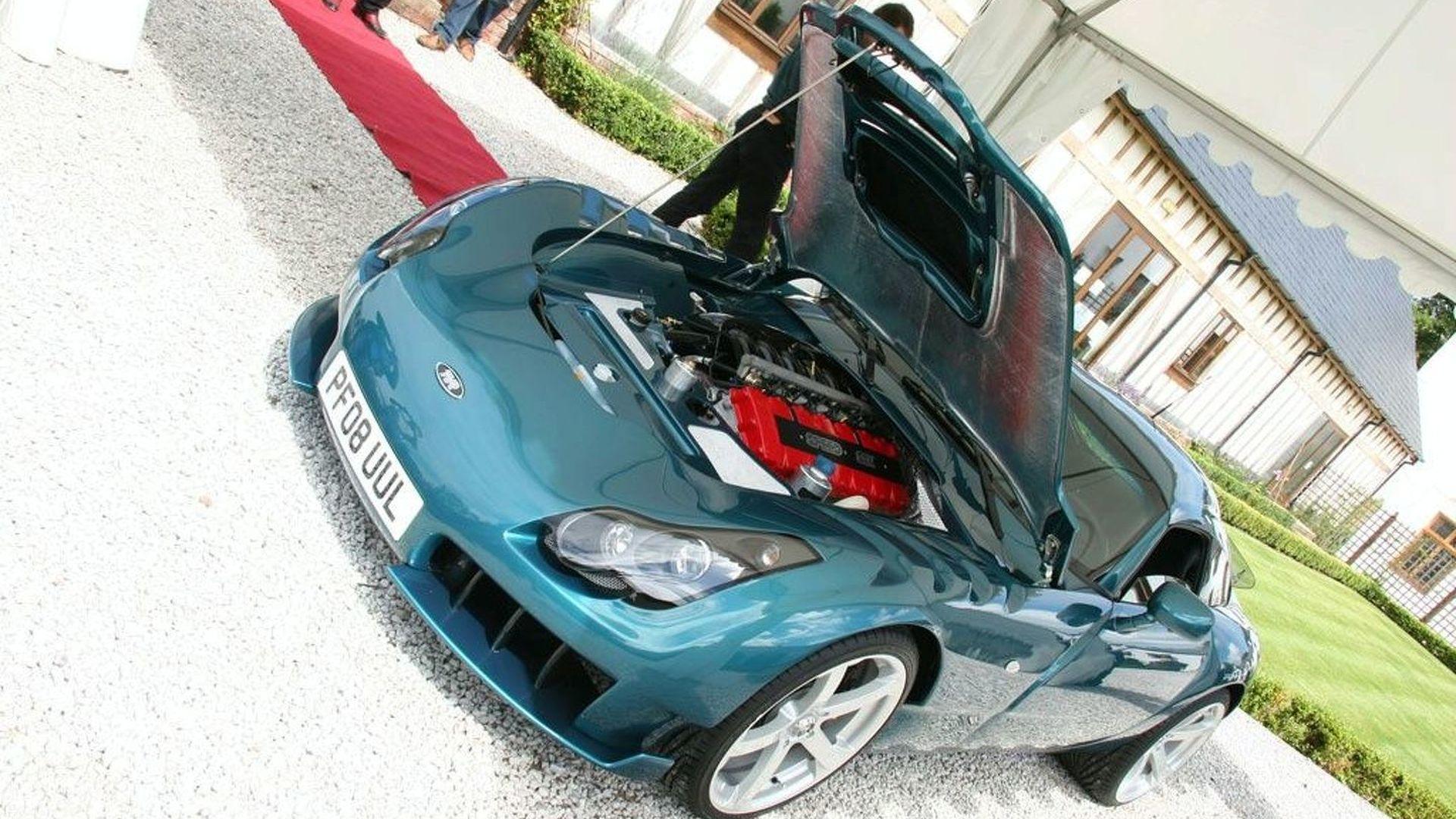 TVR Production Restarts - 2008 Sagaris Presented