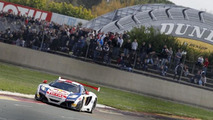Sebastien Loeb in 2013 McLaren 12C GT3 takes the win at Nogaro