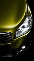 2013 Suzuki S-Cross production version teaser photo